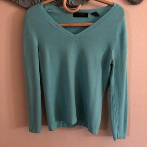 The Limited Turquoise Sweater